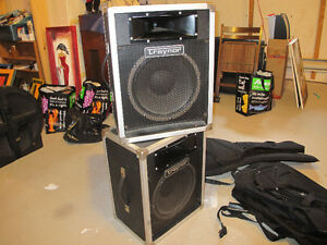 2 TRAYNOR PA SPEAKERS