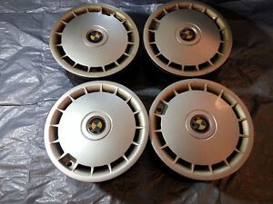 bmw e34 wheels 535i aftermarket with plastic cower rims set
