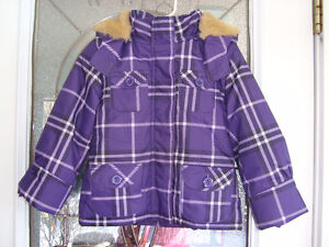 Dark Plum Joe Fresh Girl's Winter Jacket Size 4