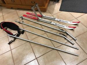 THULE Chariot : kit de SKI . Ensemble de Ski pour Chariot.