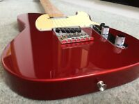 Fender Telecaster Candy Apple Red Plus Case