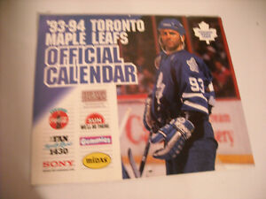 Collection of Maple Leaf Magazines, Calendars, Yearbooks. Peterborough Peterborough Area image 4