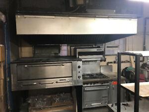 Pizza oven/restaurant equipment