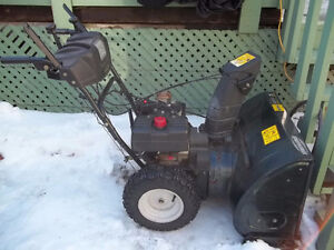 8 hp yardwork snowblower great shape like new