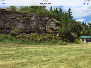 Beautiful waterfront lot on Lake Superior (Black Bay)