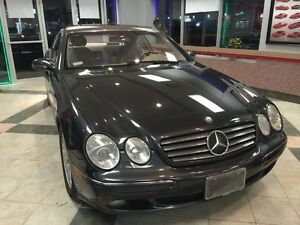REDUCED - 2002 Mercedes-Benz CL500 Coupe