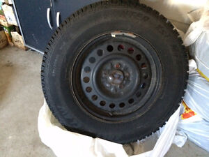 235/70/R16 Winter Tires on Rims Cambridge Kitchener Area image 4