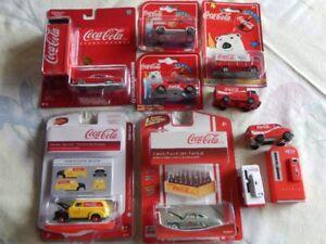 Coca-Cola collectible vintage cars  +