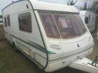 Abbey vogue gts 516 5 berth bunks both ends 2004 touring caravan