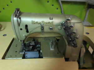 Industrial sewing machines UNION SPECIAL chain stitch