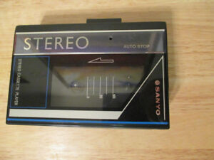 Sanyo MGP9 Stereo Portable Cassette Player