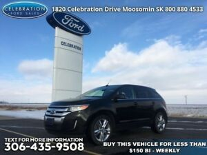 2013 Ford Edge Limited  $163 b/w x 72 mos @ 4.99% OAC!