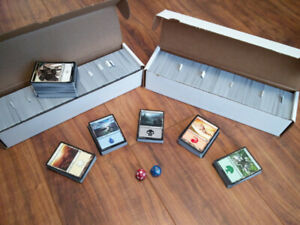 2,000 Magic the Gathering cards!