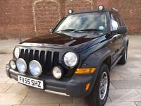 JEEP CHEROKEE AUTO DIESEL + RENAGADE + ALLOYS + CD + ELECTRIC WINDOWS + CD + FULL MOT .