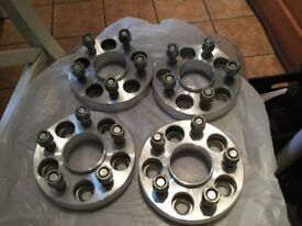 LANDROVER freelander2 wheel spacers