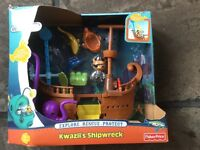 Octonauts Kwazii's shipwreck