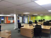 16+ desk Office space, Free internet, parking, kitchen, lounge room