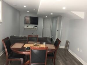 One bedroom furnished apartment for rent in Ajax