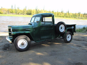 Restored 1958 Willys Jeep Pickup