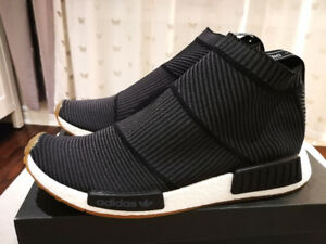 "DS ADIDAS NMD CS1 PK ""GUM PACK"" Black Size 10"