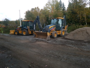 Backhoe and excavator service in the cbrm.