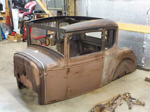 WANTED 1930 or 1931 MODEL A 5 WINDOW COUPE PROJECT