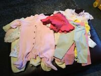 Baby girls clothes ,first size