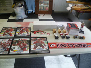 Carolina Hurricanes Memrobilia $5.00 to $15.00 Each