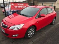 2010 (60) VAUXHALL ASTRA 1.6 EXCLUSIVE, SERVICE HISTORY, WARRANTY, NOT FOCUS MEGANE GOLF LEON NOTE