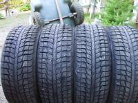 4 pneus hiver 205-55-16 Federal Himalaya