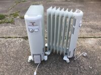 Dimples oil Radiators , 1500 W ,