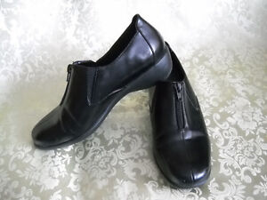 Tender tootsies collection. Black leather dress shoes and more!!