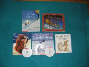 Winter Reading Books for the Primary Reader with CDs
