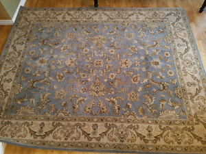 Large area rug 8x10 100% wool