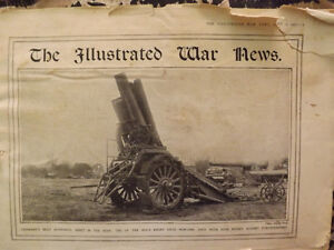 TWO COPIES OF THE ILLUSTRATED WAR NEWS FROM 1914- WWI Peterborough Peterborough Area image 2