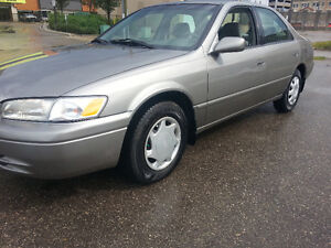 1998 TOYOTA CAMRY LE 229 kms CLEAN CAR NO TAX SAFTIED MINTY