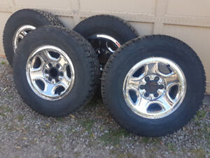 Cooper Mud and Snow truck tires