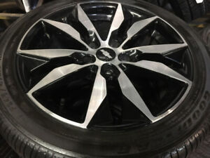 "Chevy Malibu Original 18"" Rims with 245/45/18 Goodyear Tires"