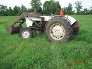 880 david brown tractor with loader