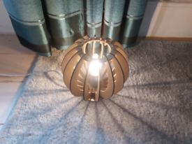 Retro style table lamp