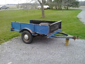 Heavy Duty Utility Trailer frame for sale