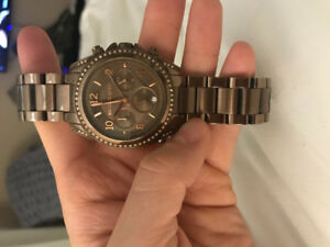 Ladies Bronze Michael Kors Watch
