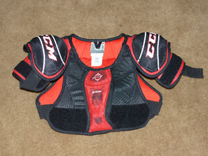 CCM Hockey Player Chest Protector / Shoulder Pads - Junior Small