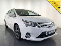 2015 TOYOTA AVENSIS ICON BUSINESS ED D-4D DIESEL 1 OWNER ESTATE SERVICE HISTORY