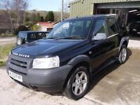 Land Rover Freelander 1.8 Serengeti Ltd Edn - 89000 Miles - Good Condition