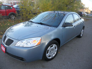 2008 Pontiac G6 Sedan 175 kms auto  loaded 2495