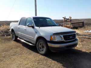 2002  F 150 pickup TRADE for what have you NEEDS MOTOR WORK