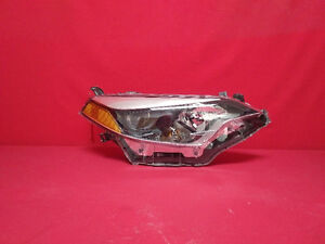 2014 Toyota Corolla S Right Side LED Head Light