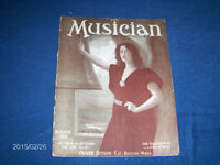 MARCH 1912 ISSUE-THE MUSICIAN-OLIVER DITSON CO-BOSTON