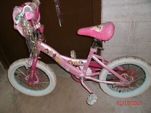 GIRL'S DISNEY PRINCESS BIKE